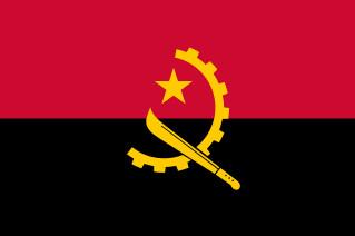 najdziwniejsze flagi świata - Angola