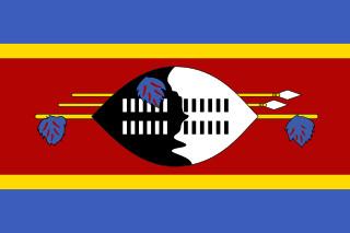 najdziwniejsze flagi świata - Eswatini