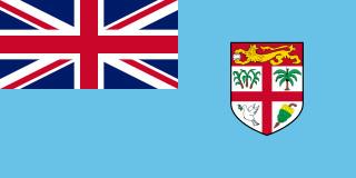 najdziwniejsze flagi świata - Fidżi