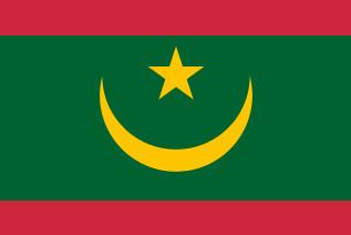 Flaga Mauretanii