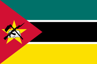 najdziwniejsze flagi świata - Mozambik