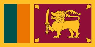 najdziwniejsze flagi świata - Sri Lanka