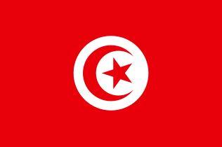 Flaga Tunezji