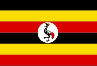 najdziwniejsze flagi świata - Uganda