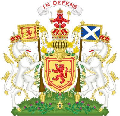 Dwa jednorożce - herb Szkocji