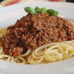 jedzenie na s - Spaghetti