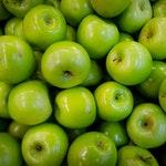 owoc na z zielone jabłko