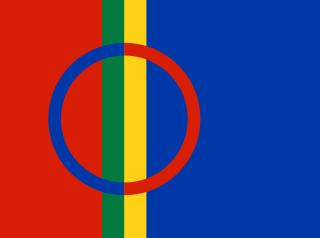 Flaga Laponii - gdzie leży Laponia
